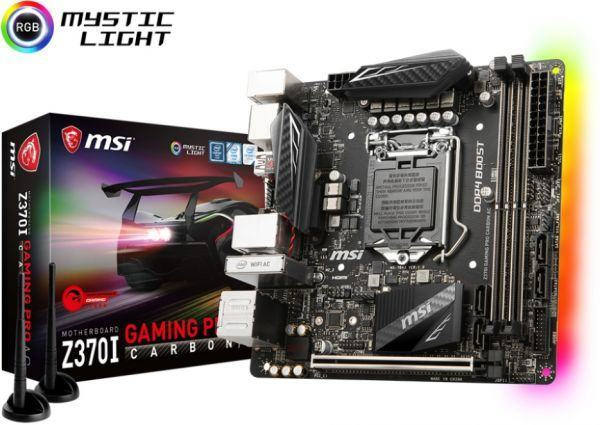 MSI Z370I Gaming Pro Carbon AC (D)