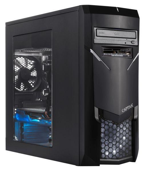 Captiva G12IG 19V3 Gaming | Intel Core i7-9700 | Nvidia GTX2060 6GB GDDR6 | 16 GB RAM | SSD 240GB | HDD 1TB | Windows 10